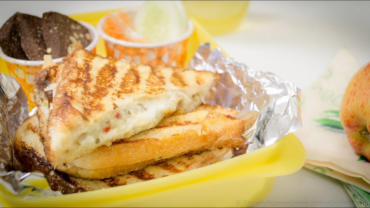 Curd Cheese Sandwich