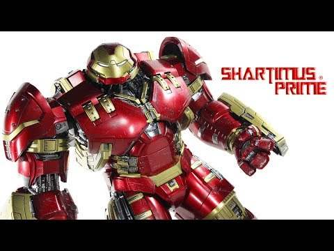 Hot Toys Hulkbuster Iron Man Avengers Age of Ultron 1:6 Scale Marvel Movie Collectible Figure Review