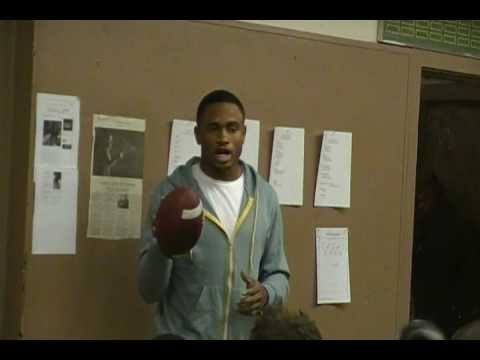 Berkeley High vs. Monte Vista Nnamdi Asomugha Pregame Speech