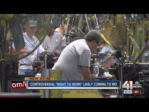 "Controversial ""Right to Work"" may come to Missouri"
