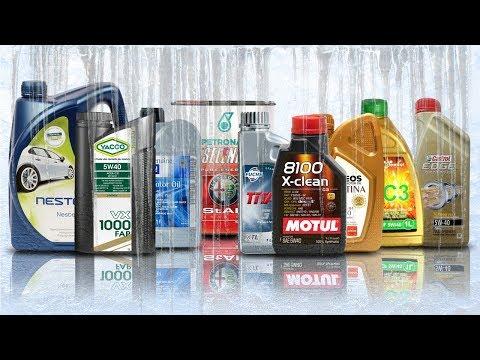 Oil 5W40 C3 Cold Test -30 ° C Motul, Castrol, Fuchs, GM, Eneos, Neste, Petronas, Yacco