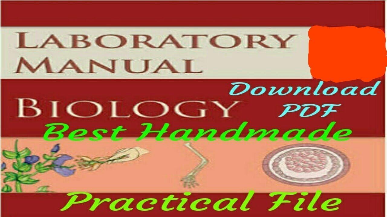 Biology Full Board Practical Notebook,pisum sativum,Allium  cepa,monocot,dicot,etc   with PDF