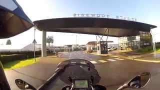 DSA Bike Test & Pinewood Studios
