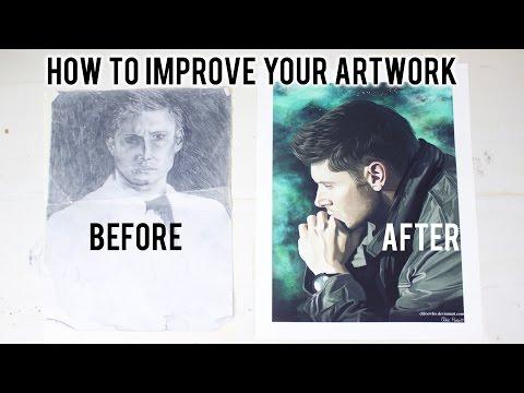 HOW TO IMPROVE YOUR ART || My Top Ten Tips