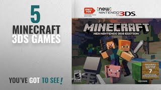 Top 10 Minecraft 3Ds Games [2018]: Minecraft: New Nintendo 3DS Edition - Nintendo 3DS