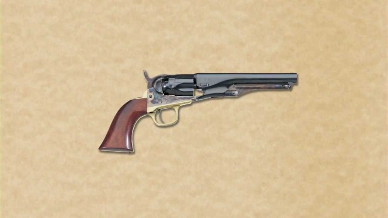 uberti 1862 pocket navy and police black powder revolvers youtube