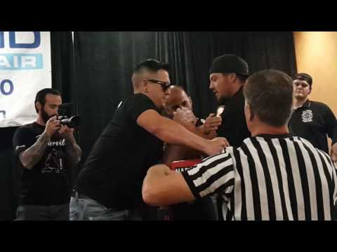 Ricky Ramos Jr. vs Scott Warren @ 911 Classic Armwrestling 2016