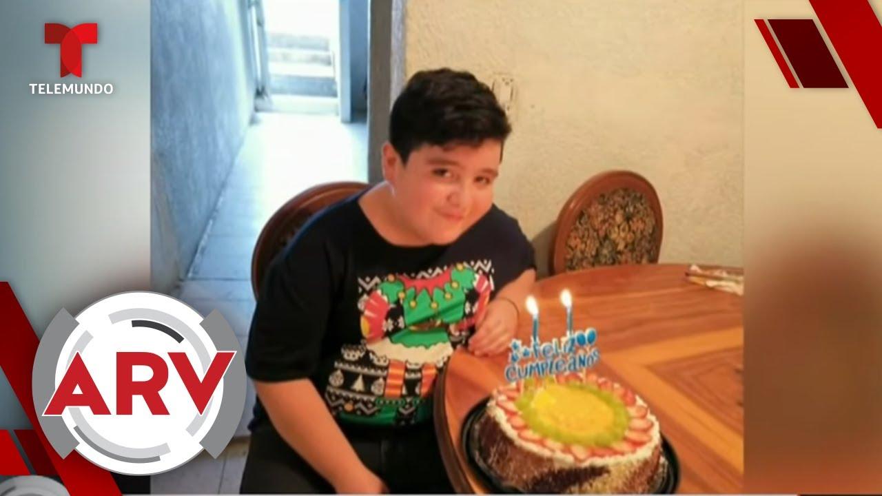 Muere niño mexicano que cuidaba a su mamá contagiada con coronavirus | Al Rojo Vivo | Telemundo