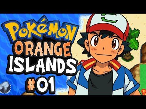 Pokemon Orange Islands Part 1 THE GS BALL - GBA Rom Hack Gameplay Walkthrough