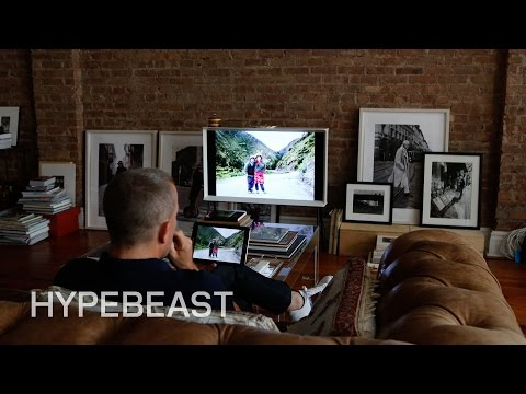 How the Sartorialist Blends the Samsung Serif TV and His Living Space
