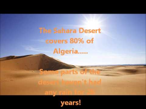 Algeria Project - What's the Weather Like?