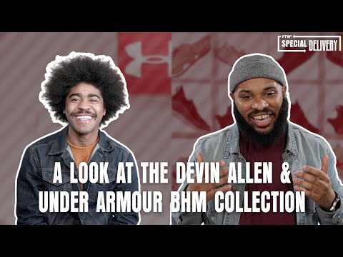 EXCLUSIVE interview with photographer Devin Allen on his NEW Under Armour line | Special Delivery