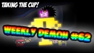 Taking the Cup! Weekly #62 (Medium Demon 10✭) Deep Travel by BlueLite - Geometry Dash