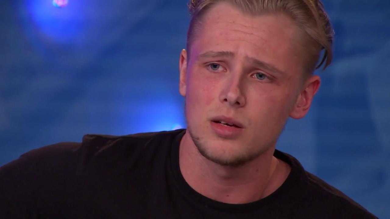 Filip Mathiasson - Promise Me av Dead By April (hela Idol-audition 2017) - Idol Sverige (TV4)