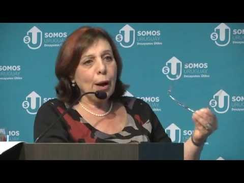 Intendenta de Montevideo Ana Olivera - Desayunos Útiles, Somos Uruguay
