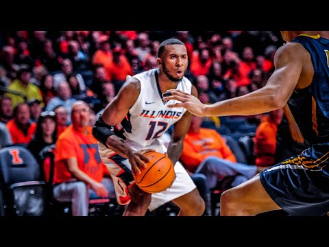 Illinois Men's Basketball Highlights vs. Augustana 11/22/17