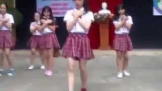Video Lớp 8/9 trường Trưng Vương múa bài Lionheart :3