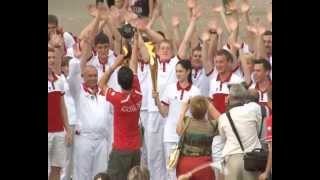 Олимпийский огонь в Бугульме