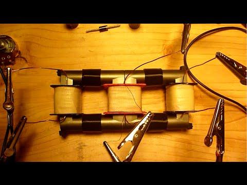 Bi-toroid Transformer replication (over unity transformer)
