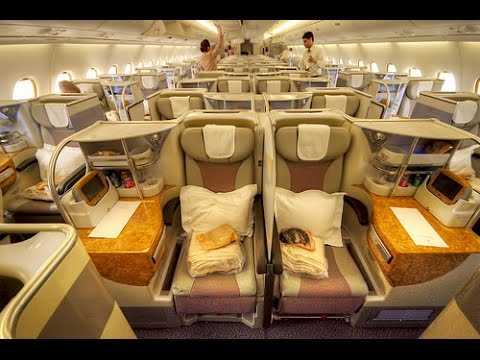 Luxury In The Sky Emirates A380 Zrh Dxb Business Class Youtube
