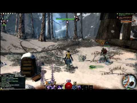 Guild Wars 2 - Stress Test - Slumming in the Wayfarer Foothills