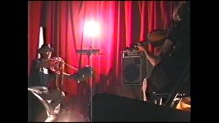 Live Performance Tony Conrad vs Hangedup @ Suoni per Popolo -- June 16, 2004