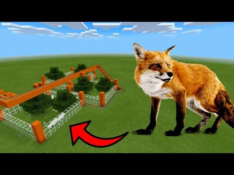 How To Make a FOX Roller Coaster in Minecraft PE | MCPE Journalist