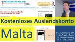 Kostenloses Auslandskonto Malta ► Lösung?