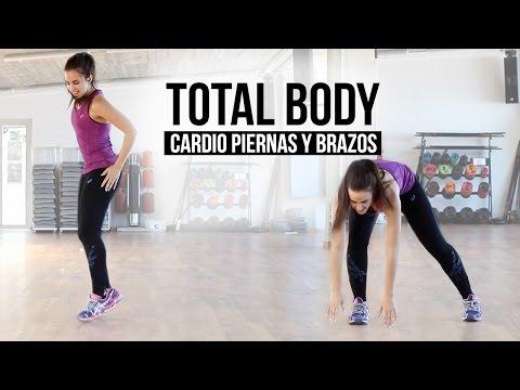 Ejercicios para brazos y piernas   Total body