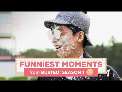 Funniest Moments Of Busted! Season 1 [ENG SUB]