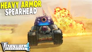 New Heavy Tank Smashes Allied Lines, Sniper & Recon Rescue Mission | Valkyria Chronicles 4 Gameplay