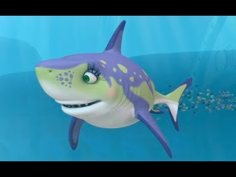 Dinosaur Train Carla Cretoxyrhina Cartoons for kids