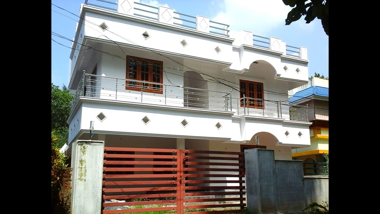 2 100 Sq Ft 4 Bedroom House In 7 Cent Land For Sale In Angamaly Near Nh 47 Youtube