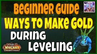 WoW New Player Guide: How to Make Gold while Leveling