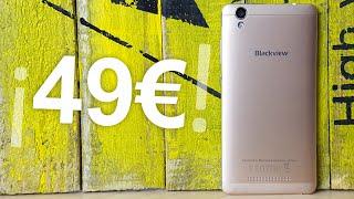 ¿El mejor móvil por 50 euros / dolares? | Blackview A8