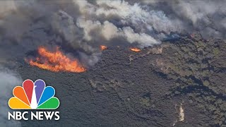 Aerial Video Shows Ravaging Woolsey Wildfire In California | NBC News