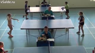 Областной турнир по настольному теннису прошёл в Верхней Салде