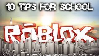 10 TIPS FOR SCHOOL THIS YEAR (DUTCH) - ROBLOX
