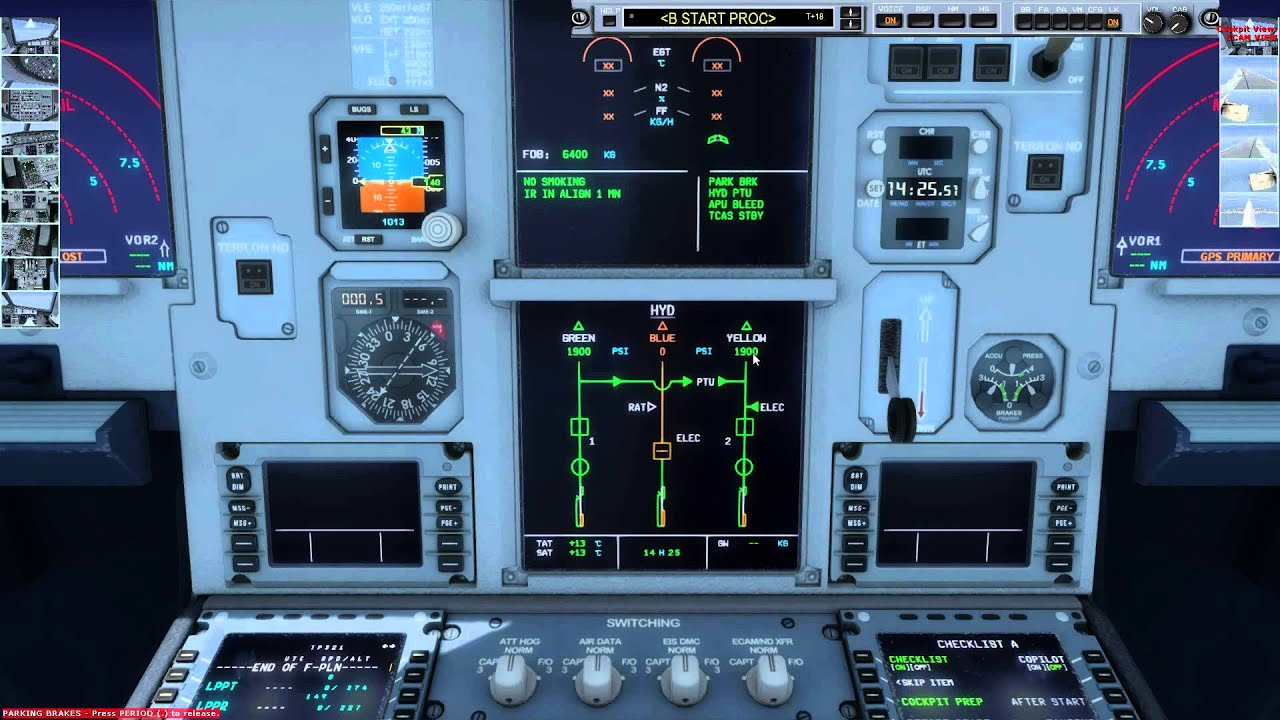 [Prepar3D] IFR FLIGHT with FS2Crew [HD]