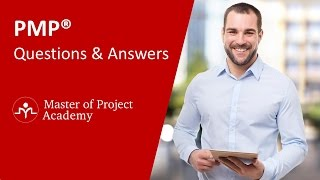 Gambar cover PMP Exam Questions & Answers 2019 - Online PMP Training from Master of Project Academy