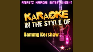 Yard Sale In the Style of Sammy Kershaw Karaoke