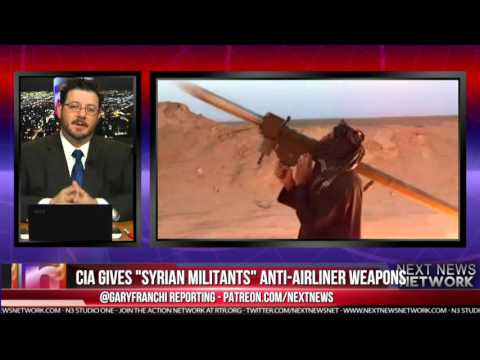 CIA GIVES SYRIAN MILITANTS ANTI AIRLINER WEAPONS TO KEEP RUS
