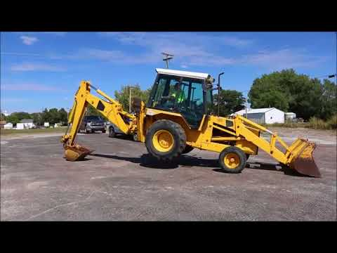 JCB 1400B backhoe for sale | no-reserve Internet auction November 7, 2017