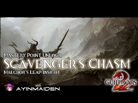 ★ Guild Wars 2 ★ - Malchor's Leap Insight: Scavenger's Chasm
