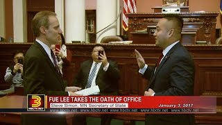 3 HMONG NEWS: Swearing-in ceremonies for Fue Lee and Sen. Foung Hawj. Filed by 3HMONGTV.