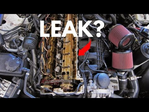BMW Valve Cover Gasket Leak? Confirm It Right Now!