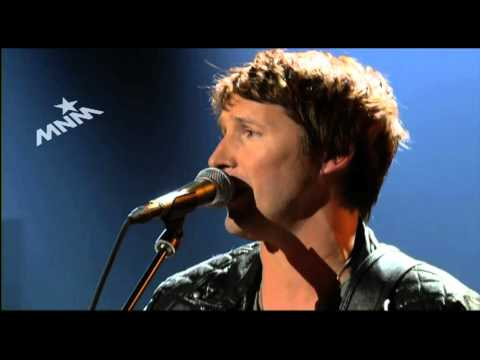 MNM Live met James Blunt: These Are The Words