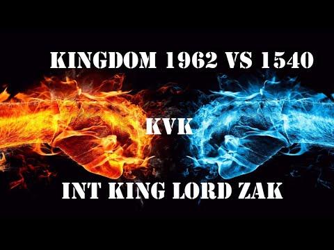 Clash Of Kings: Kvk 1962 Vs 1540! INT Alliance Lord Zak [Monster Kills] (2018)