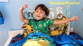 Zack Morning Routine Family Vlog