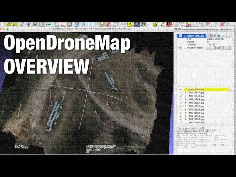 OpenDroneMap Free and Open Source Toolkit for Creating Aerial Orthomosaics
